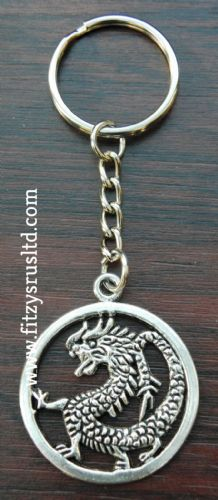 Dragon Metal Keyring Gift Key Ring Souvenir